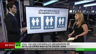 Casi 100.000 españoles emigraron en 2015, la cifra más alta desde 2008