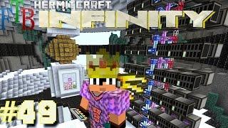 getlinkyoutube.com-Minecraft Mods - FTB Infinity Ep. 49 - AE2 SSD Sub Network Storage !!! ( HermitCraft Modded )
