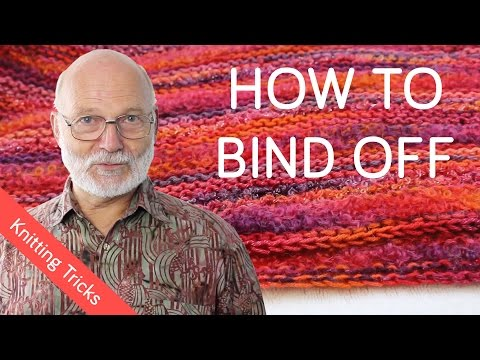 How to Bind Off Knitting the Right Way
