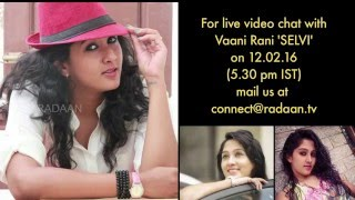 getlinkyoutube.com-Live Chat With Your Vani Rani Favourite Stars | Selvi (Nikhila) | Live on 12.02.2016