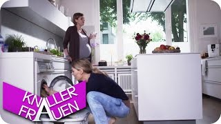Schwere Geburt - Knallerfrauen mit Martina Hill   Die 3. Staffel in SAT.1