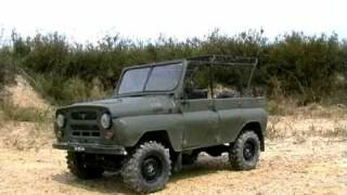 UAZ 469b RC 1:10 FULL METAL ACTION
