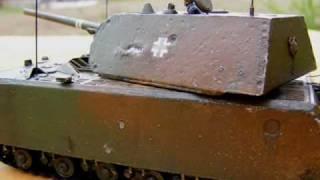 getlinkyoutube.com-Panzer VIII  RC Maus
