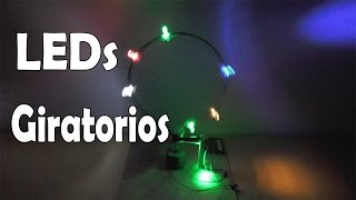 getlinkyoutube.com-Cómo Hacer Luces LED Giratorios (muy fácil de hacer)