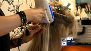 getlinkyoutube.com-New Laser Technology Promises Healthy Hair Extensions