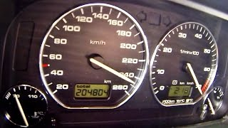 VW Golf MK 2 VR6 Turbo 900 HP Brutal Acceleration 0-250