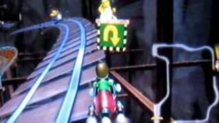getlinkyoutube.com-Mariokart Wii: 18 Secret Areas with Moon Jump Hack