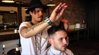 getlinkyoutube.com-David Beckham / Nick Wooster Inspired Hairstyle - New 2013 Men's Short Haircut