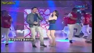 getlinkyoutube.com-Dingdong Dantes & Marian Rivera Live @ Eat Bulaga  = 2/12/12