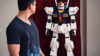 "getlinkyoutube.com-""7FT Gundam"" - Beyond The Paper"