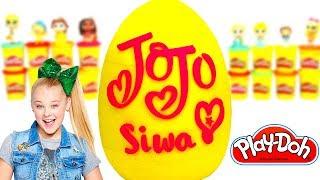 Huevo Sorpresa Gigante de Jojo Siwa en Español de Plastilina Play Doh