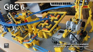 getlinkyoutube.com-LEGO GBC 6 + Building Instructions (7 modules - 1 motor and 3 servo motors)