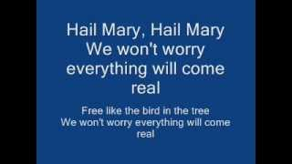 getlinkyoutube.com-2pac - Hail Mary (Lyrics)