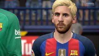 getlinkyoutube.com-FIFA 17 | Atlético Madrid vs FC Barcelona - Full Gameplay (PS4/Xbox One)