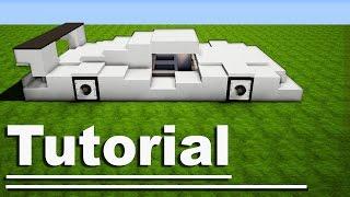 download video minecraft easy sport race car tutorial. Black Bedroom Furniture Sets. Home Design Ideas