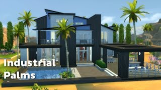 getlinkyoutube.com-The Sims 4: House Building - Industrial Palms