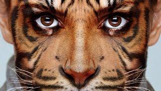 getlinkyoutube.com-Photoshop Tutorial: How to Transform Yourself into an Animal!