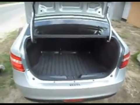 Установка пружины для автоматического открытия багажника Лада Веста