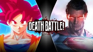 getlinkyoutube.com-Goku VS Superman 2 | DEATH BATTLE!