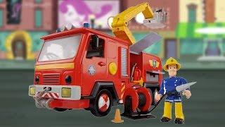 getlinkyoutube.com-Jupiter with Figur / Wóz Strażacki Jupiter - Fireman Sam / Strażak Sam - Simba - 109251063