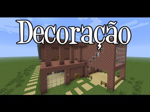 Tutoriais Minecraft: Decoração da Mansão de Tijolos