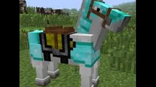 getlinkyoutube.com-How to tame, ride, feed a horse in minecraft