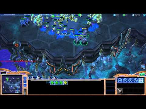 Starcraft II - Protoss Tutorial Working up from Bronze League - Part3