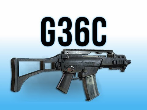 MW3 In Depth - G36C Assault Rifle