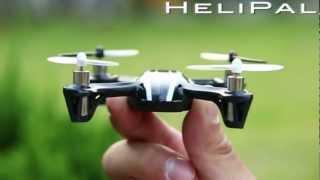 Hubsan H107 X4 Mini Drone im Testflug - Wahnsinn