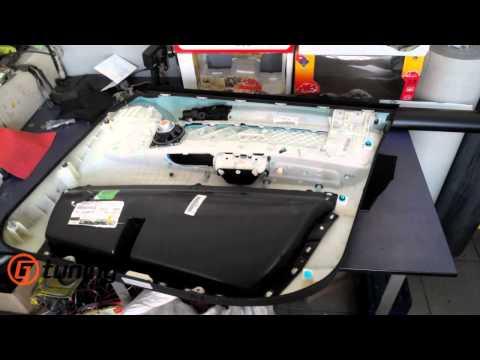 BMW X5 Процес разборки дверей, шумоизоляция