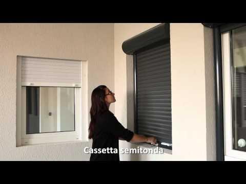 18 Serrande (avvolgibili) in alluminio con barriera termica Outbox  MCA