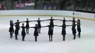 getlinkyoutube.com-2015 - Canadian Synchronized Skating Championships - NEXXICE Senior - Free