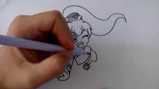 getlinkyoutube.com-สอนวาดการ์ตูน เจ้าหญิงทิวา ชุดไทย จากการ์ตูน ลา ฟลอร่า โรงเรียนป่วนก๊วนเจ้าหญิง