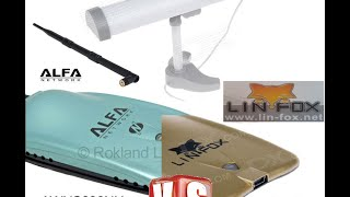 getlinkyoutube.com-LIN-FOX 8500000G vs Alfa AWUS036NH WiFi USB Adapters