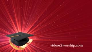 getlinkyoutube.com-Graduation Motion Background Seamless Video