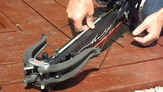 Mantis crossbow vs 5mm thick piece of aluminium