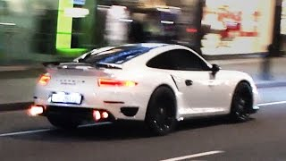getlinkyoutube.com-900HP Porsche 991 Turbo S! - MAD sounds and flames!