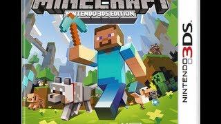 getlinkyoutube.com-Minecraft Nintendo 3DS Edition unboxing