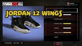 getlinkyoutube.com-NBA 2K16 Shoe Creator   Jordan 12 Wings   Xbox One PS4