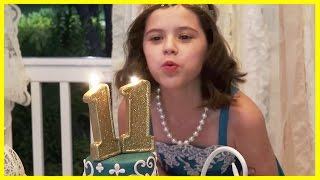 getlinkyoutube.com-EMMA'S 11th BIRTHDAY!  An EVENING OF ELEGANCE!  |  KITTIESMAMA