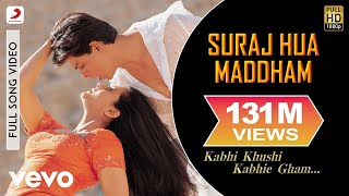 getlinkyoutube.com-K3G - Suraj Hua Maddham Video | Shah Rukh Khan, Kajol