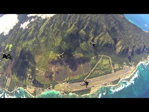 Skydiving in Paradise - December 2014