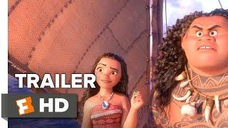 getlinkyoutube.com-Moana Official Trailer 1 (2016) - Dwayne Johnson Movie
