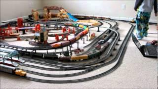getlinkyoutube.com-HO Scale Trains