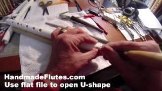 getlinkyoutube.com-1A+ HOW TO MAKE A PVC QUENA FLUTE