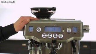 getlinkyoutube.com-Sage The Oracle (BES980) espressomaskine test