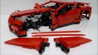 LEGO Technic New Supercar Building Instructions