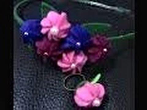 Aprenda a fazer uma Diferente Flor  em Feltro com enchimento  PASSO A PASSO.