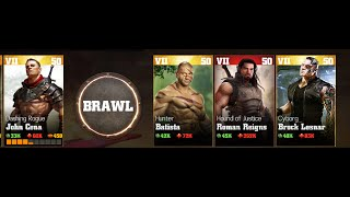 getlinkyoutube.com-WWE immortals-Bonus battle 7 toughest match VS Rogue john cena