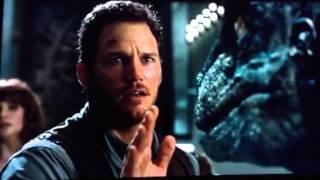 getlinkyoutube.com-Jurassic World- Hoskins Killed, Raptors Switch Sides